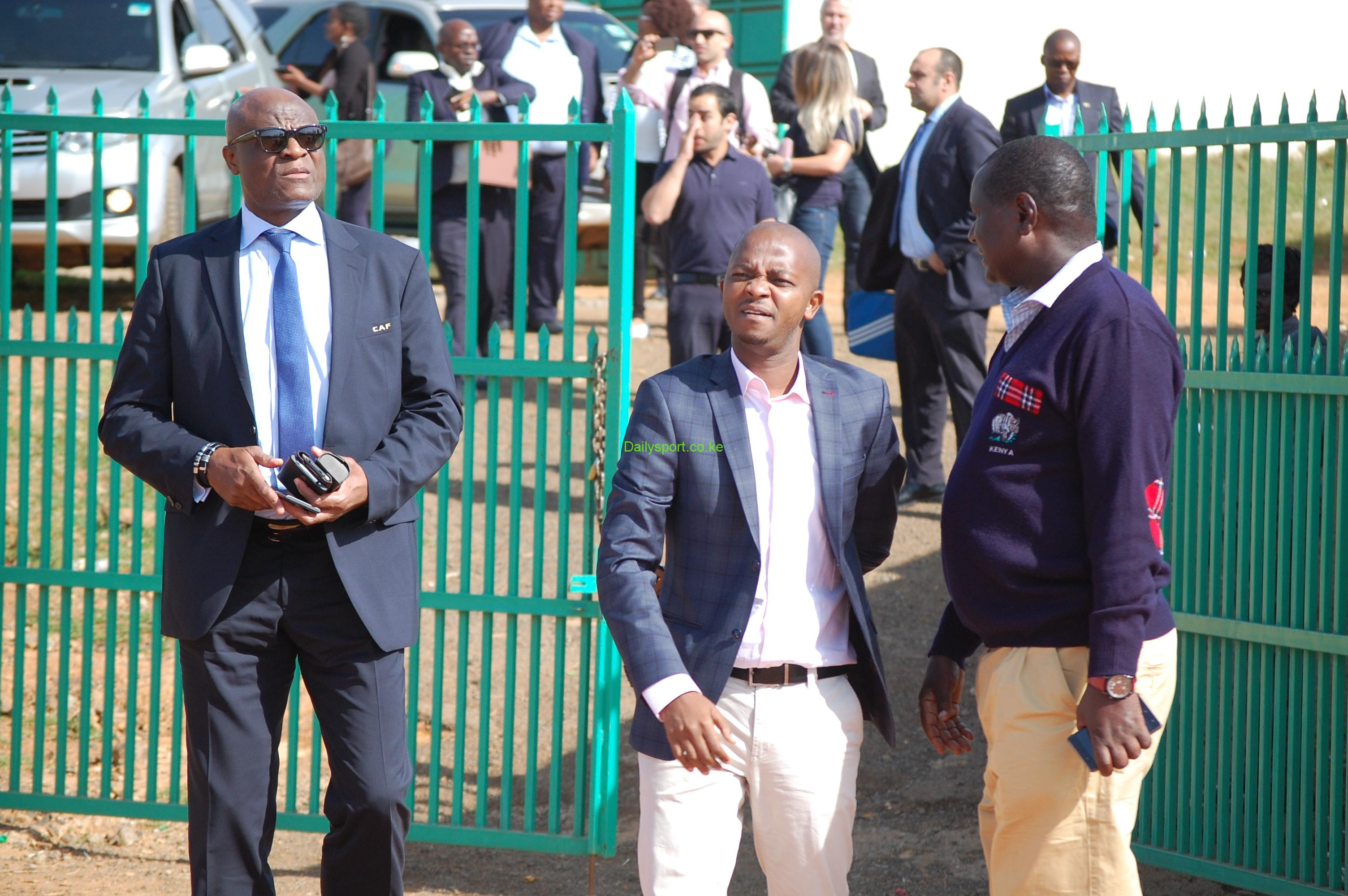 nick mwendwa, Omari Seleman, Kipchoge Stadium, Chan, Confederation of Africa Football,
