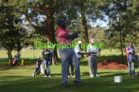 Hieronim Ikhokoro, Kakamega golf club, Moses Tanui, Reale Hospital, Reale Hospital Golf Day, Moses Tanui