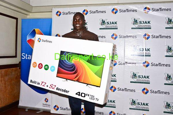 StarTimes, Sports Journalists Association of Kenya, Darwin Mukidza, Simon Cherono, Deaflympics, Daniel Kiptum, Gloria Mulei, Dominc Samson, Chris Mbaisi, Japheth Akulia