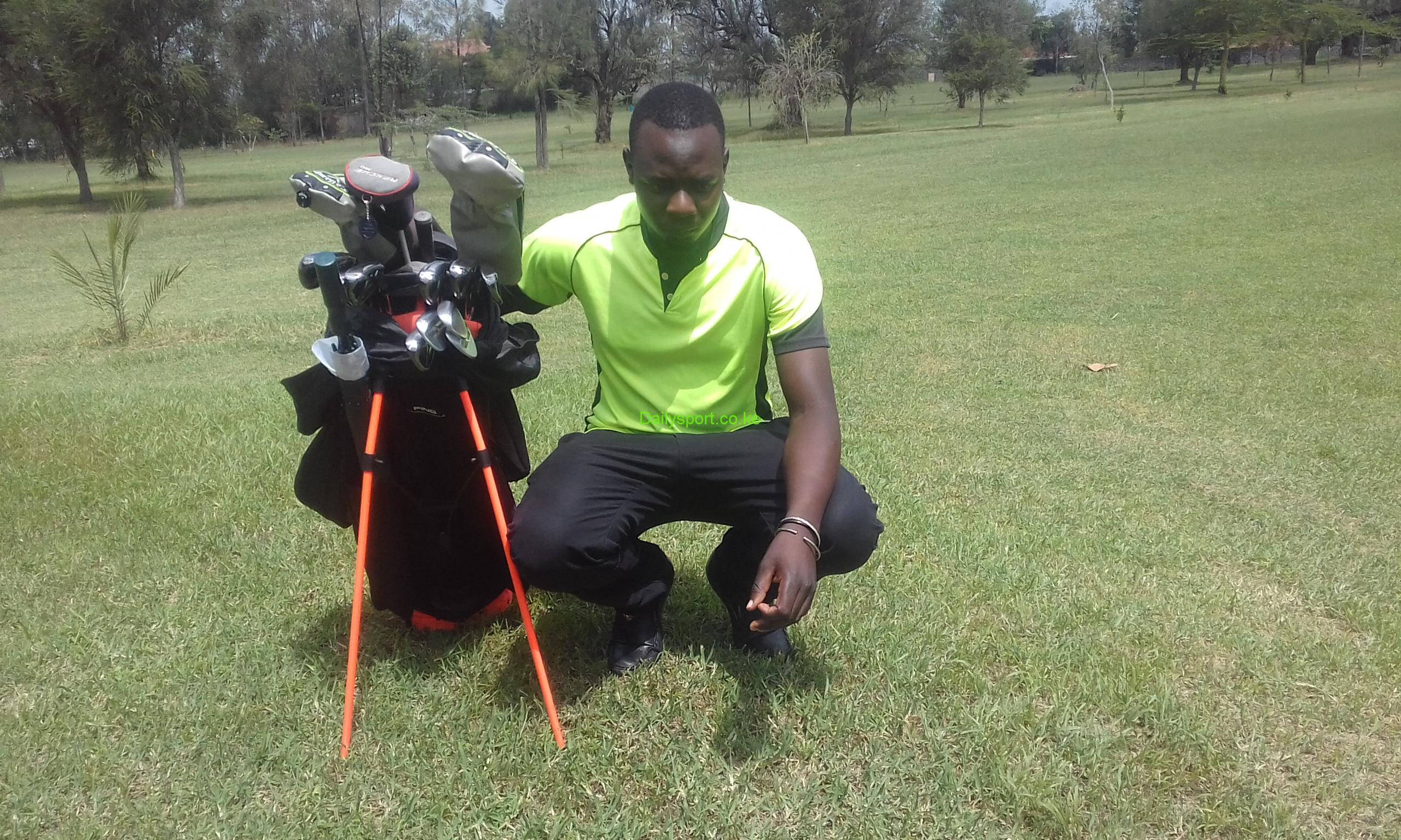Charles Odhiambo, Coronation and Bendor Trophy, Coronation Trophy, Uhuru Kenyatta, President Uhuru Kenyatta, Barclays Bank Kenya Open, Kenya open golf, Isaac Makokha,