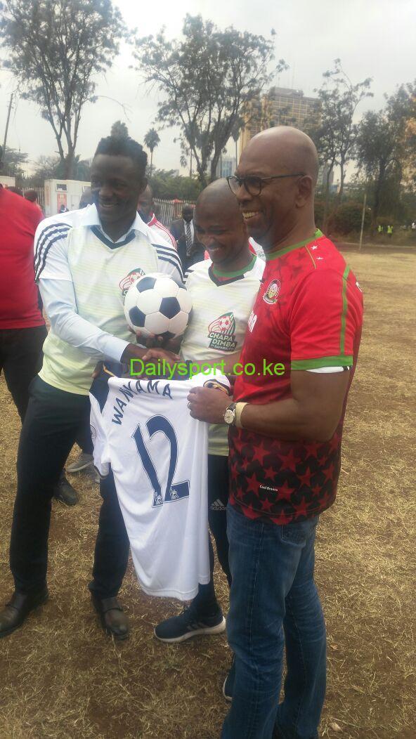 Sakata Ball, Chapa Dimba, Safaricom, Safaricom Chapa Dimba, Victor Wanyama, Tottenham Hotspurs, Bob Colimore, Football Kenya Federation,