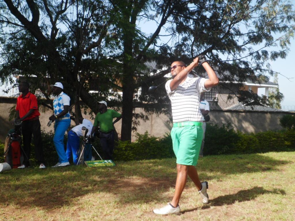 Iron Challenge golf, Luther Kamau, Nakuru golf club,