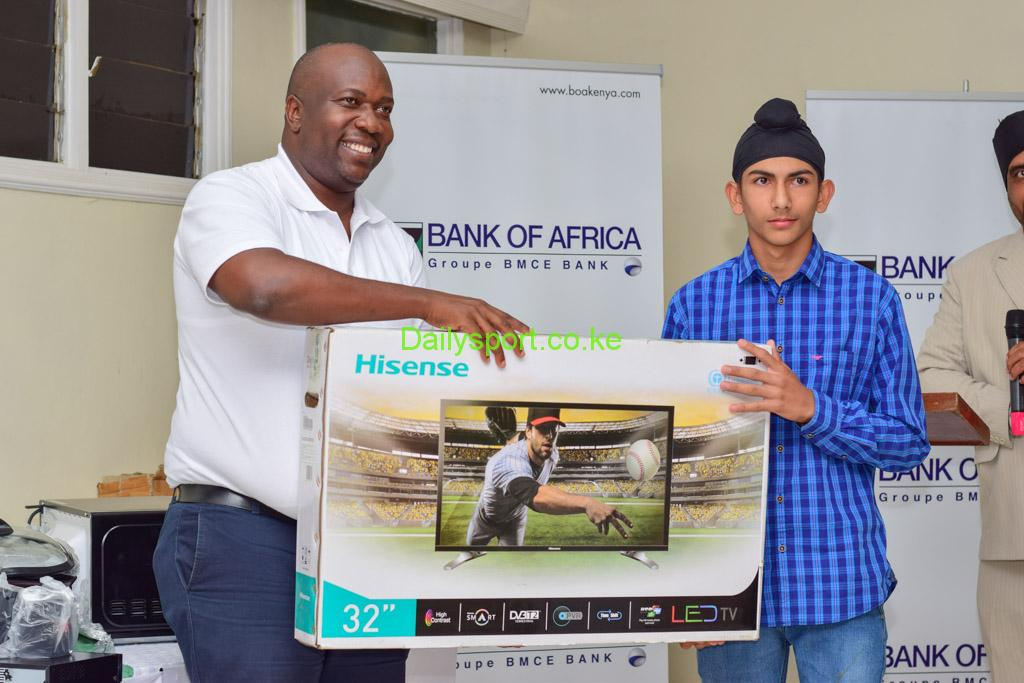 Jeremiah Kayago, Bank of Africa, Bank of Africa Golf tournament, Rishab Sagoo, George Onyinno,