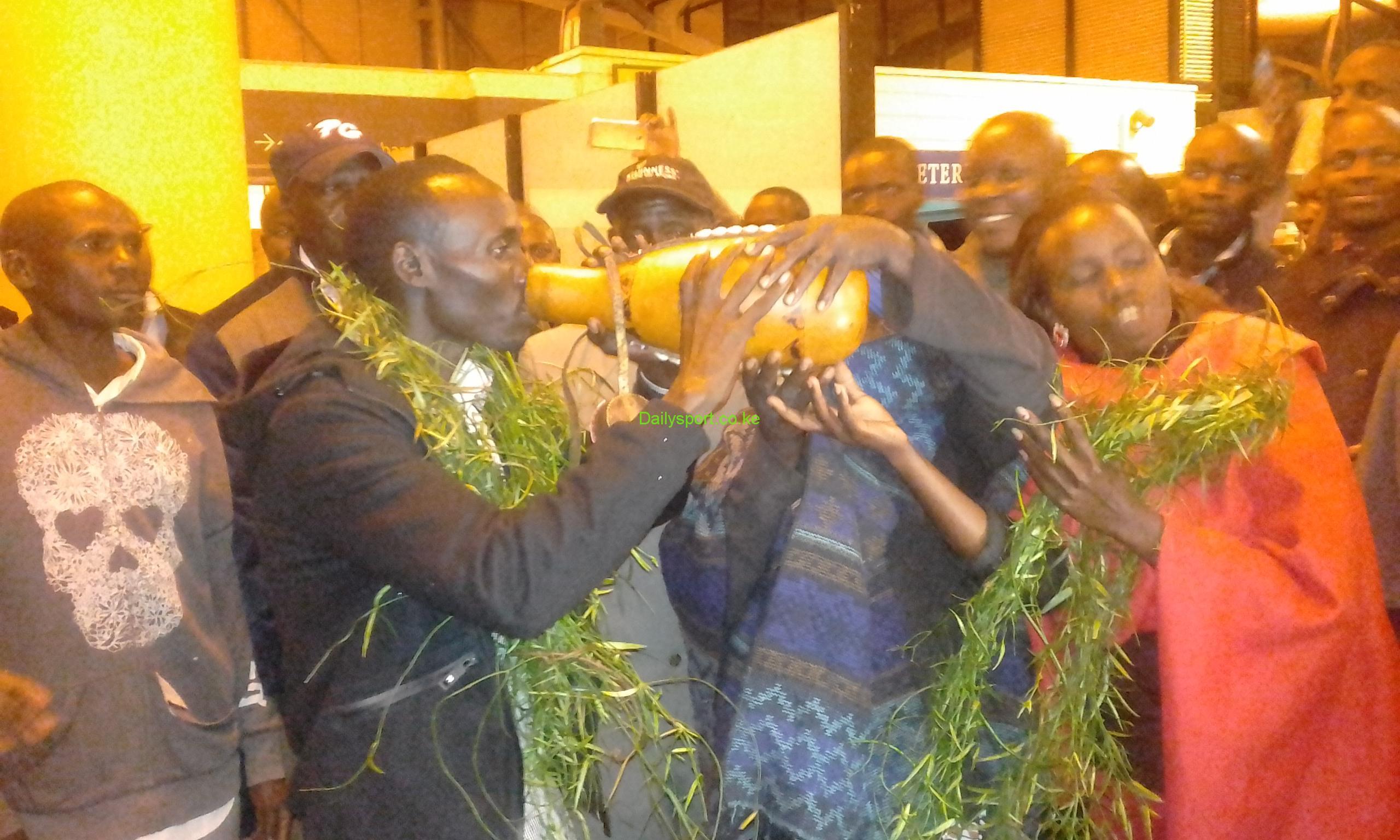 Eldoret International Airport, Amsterdam Marathon, Lawrence Cherono, Daniel Wanjiru, Nobert Kigen, Dr. Gabriela Rosa, Rosa Associati, Abraham Kiptum,