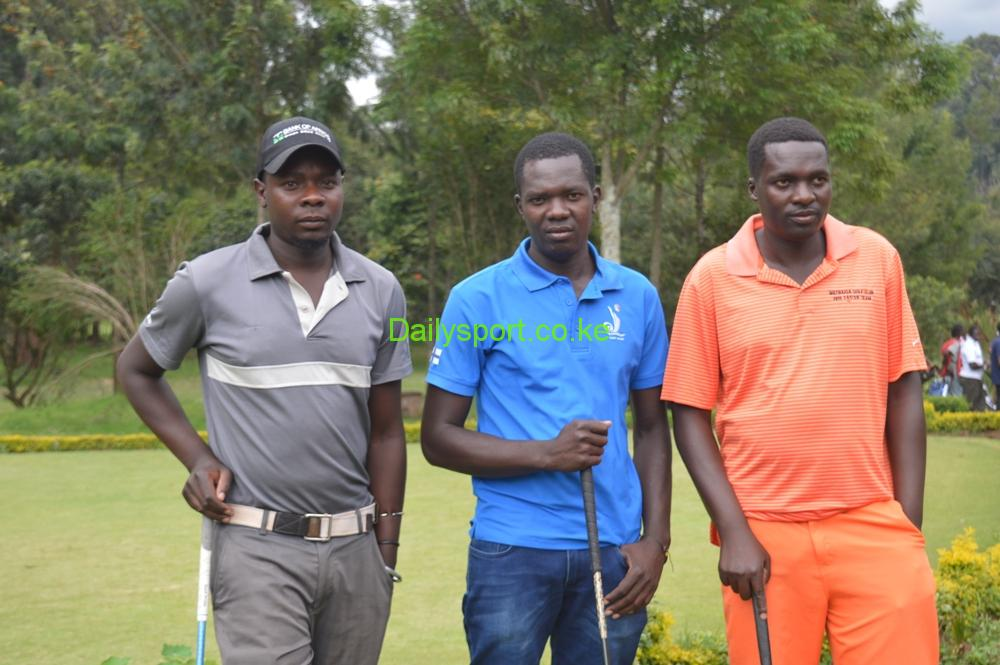 Charles Odhiambo, Isaac Makokha and Reuben Kubwa.