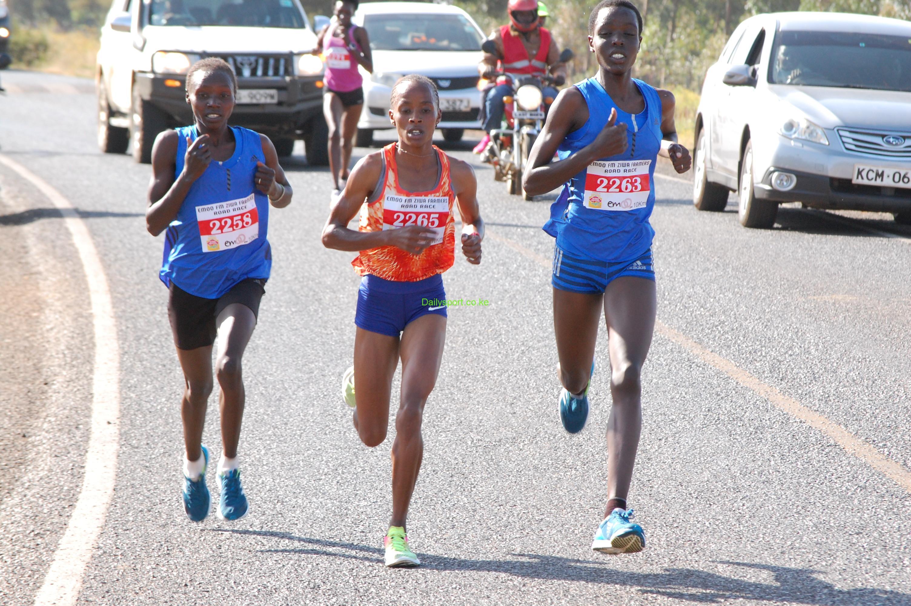 Valary jemeli, Valary Jemeli Aiyabei, Nagoya women Marathon, Eunice Kirwa