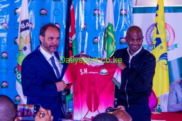 Sebastien Migne, Nick Mwendwa, Harambee Stars,